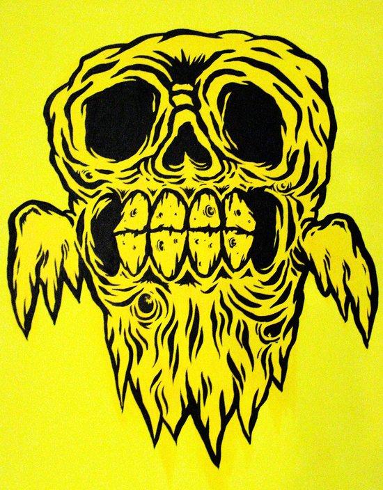 old ghost Art Print