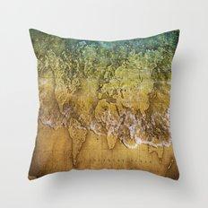 Maps Throw Pillow