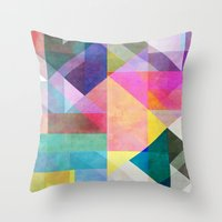 Color Blocking 2 Throw Pillow