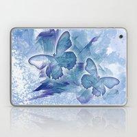 Fly butterfly fly Laptop & iPad Skin