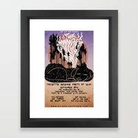 The Moondoggies Concert … Framed Art Print