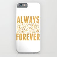 iPhone & iPod Case featuring Always & Forever by Grace Kelly McConnell