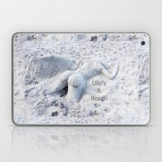 Life's A Beach By Sharon… Laptop & iPad Skin