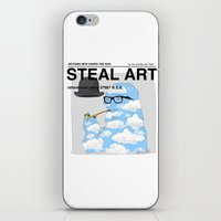 STEAL ART iPhone & iPod Skin