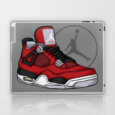 Jordan 4 (Toro Bravo) Laptop & iPad Skin