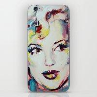 Merylin Monroe Cinema An… iPhone & iPod Skin