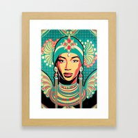Aminata Framed Art Print