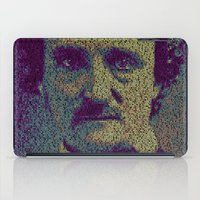 Edgar Allan Poe. iPad Case