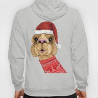 Alpaca Christmas Hoody