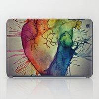 Rainbow Heart iPad Case