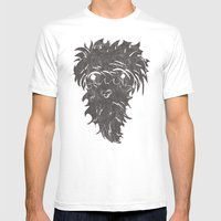 Caveman Mens Fitted Tee White SMALL