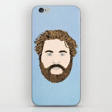 Zach Galifianakis iPhone & iPod Skin