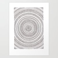 lines lines lines.. Art Print