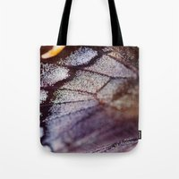 Butterfly Wing Macro Tote Bag
