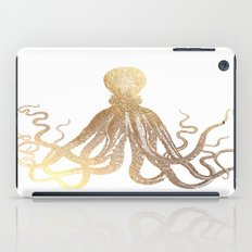 Gold Octopus  iPad Case