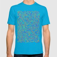 Cmyk Mens Fitted Tee Teal SMALL