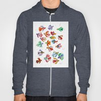 Colorful fishes Hoody