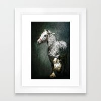 THE SILVER GYPSY Framed Art Print
