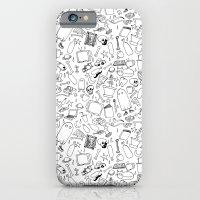 Doodle Storm iPhone 6 Slim Case