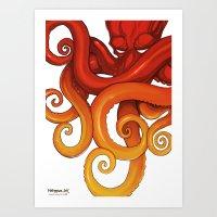 Hexdapus Ink 2015 Art Print