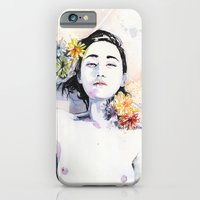 iPhone Cases featuring A new morning by agnes-cecile