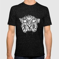 TRUST Mens Fitted Tee Tri-Black SMALL