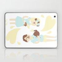 English Summer Cup Of Tea Laptop & iPad Skin