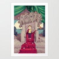 The GOOD Morty Art Print