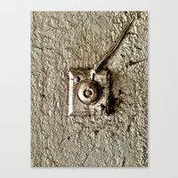 Vintage Doorbell Canvas Print