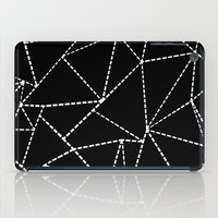 Abstract Dotted Lines Wh… iPad Case