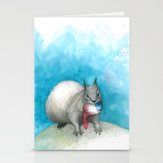 Just this last one before winter... Stationery Card