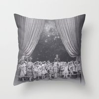 In Which Flash Photograp… Throw Pillow