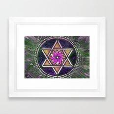 Star of David Framed Art Print