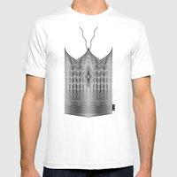 Spirobling XXIV - Knitted Crown Mens Fitted Tee White SMALL
