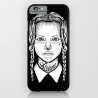 iPhone & iPod Case featuring Addams by dominantdinosaur