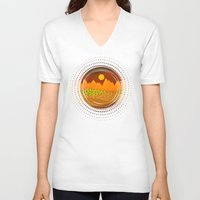 Color/Landscape 9     (B… Unisex V-Neck