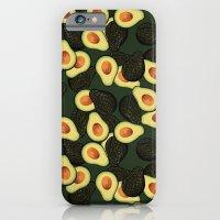 Avocado Pattern iPhone 6 Slim Case