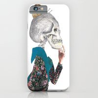 iPhone & iPod Case featuring What was the question? by María Massó