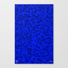 Comp  Camouflage / Blue Canvas Print