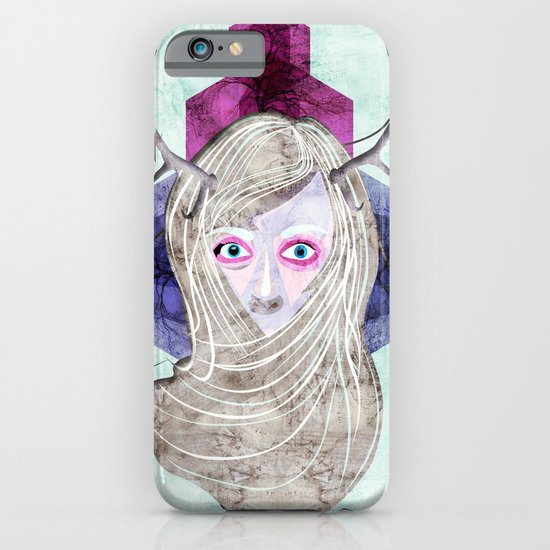 Hair Mask iPhone & iPod Case