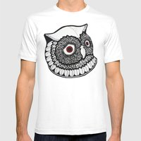 Baykus Ve Ben Mens Fitted Tee White SMALL