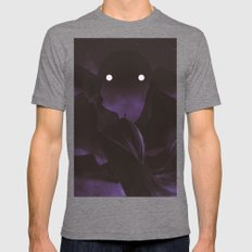 Staring Contest With The Mountain God Mens Fitted Tee Tri-Grey SMALL