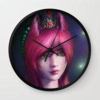 Nine tailed fox  Wall Clock