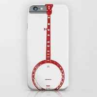 Minimalistic Banjo iPhone 6 Slim Case