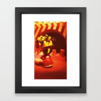 A World of Laughter Framed Art Print