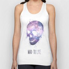 Mad To Live Unisex Tank Top