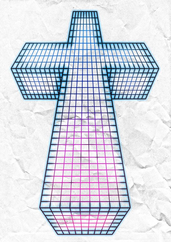 The White Cross of Justice Art Print