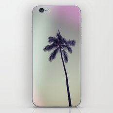 palm tree ver.vintage iPhone & iPod Skin