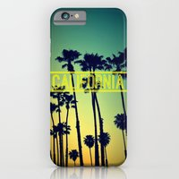 iPhone & iPod Case featuring CALIFORNIA by RichCaspian