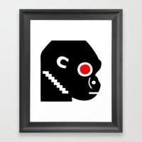 Zelonicus Monkey Framed Art Print